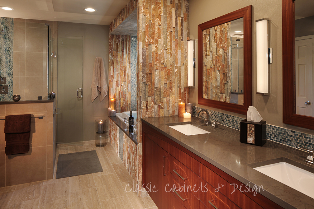 Master Bath Bellmont Cabinetry