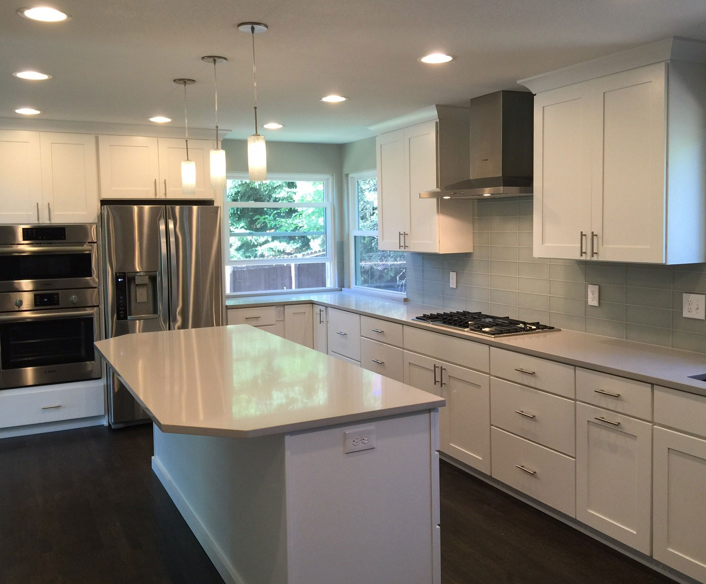 Cool, Contemporary Kitchen - Louisville - Classic Cabinets ...